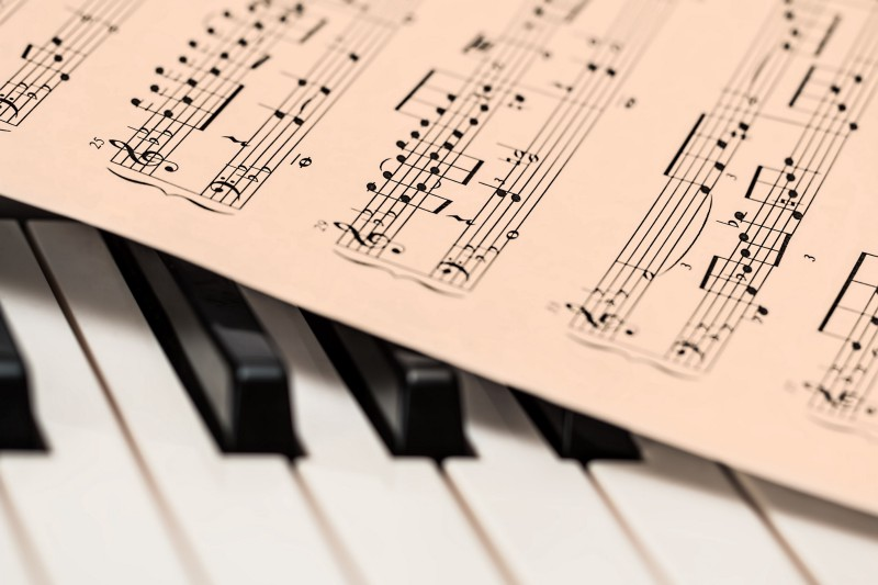 [Keys and notes.](https://pixabay.com/en/piano-music-score-music-sheet-1655558/) Got it?