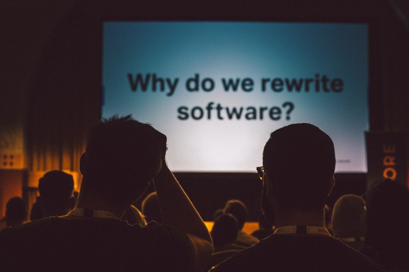 Why do we rewrite software? *facepalm* by [Nick Tulinen](http://www.nicktulinen.com)