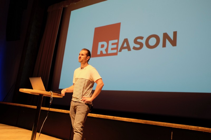 Nik Graf showed us that there's reason behind ReasonML.